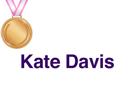 Kate Davis TBBCF Top Supporter