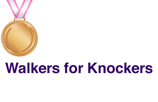 Walkers for Knockers TBBCF Top Supporter