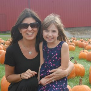Erin and Eva Gizio will walk the October 5 TBBCF 5K
